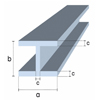 Structural profiles doble t